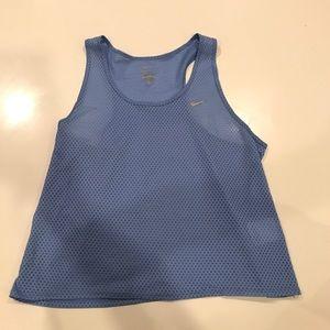 Light Blue Nike Athletic Tank
